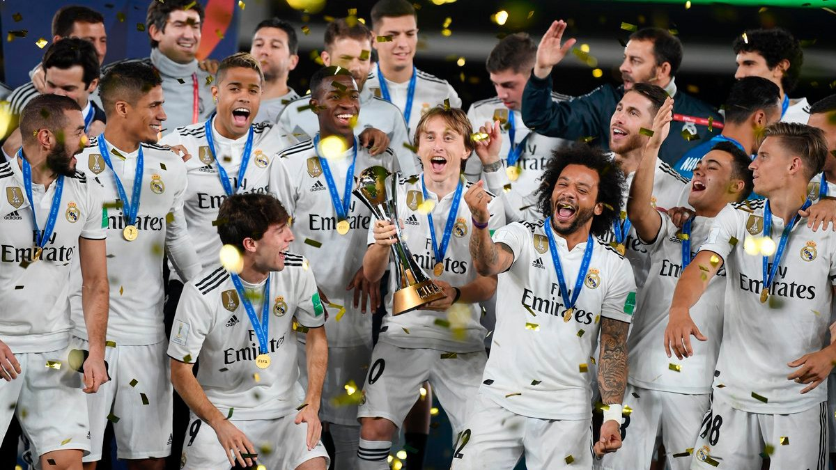 🏆 1960 🏆 1998 🏆 2002 🏆 2014 🏆 2016 🏆 2017 🏆 2018  Real Madrid become the team with the most World Champion titles won (3 Intercontinental Cups and 4 #ClubWC). You can also win the most special trophy with your team in FCS with the 2018-19 season ▶️ https://t.co/P2BmxRSbVg https://t.co/zW9Cq1cu5j