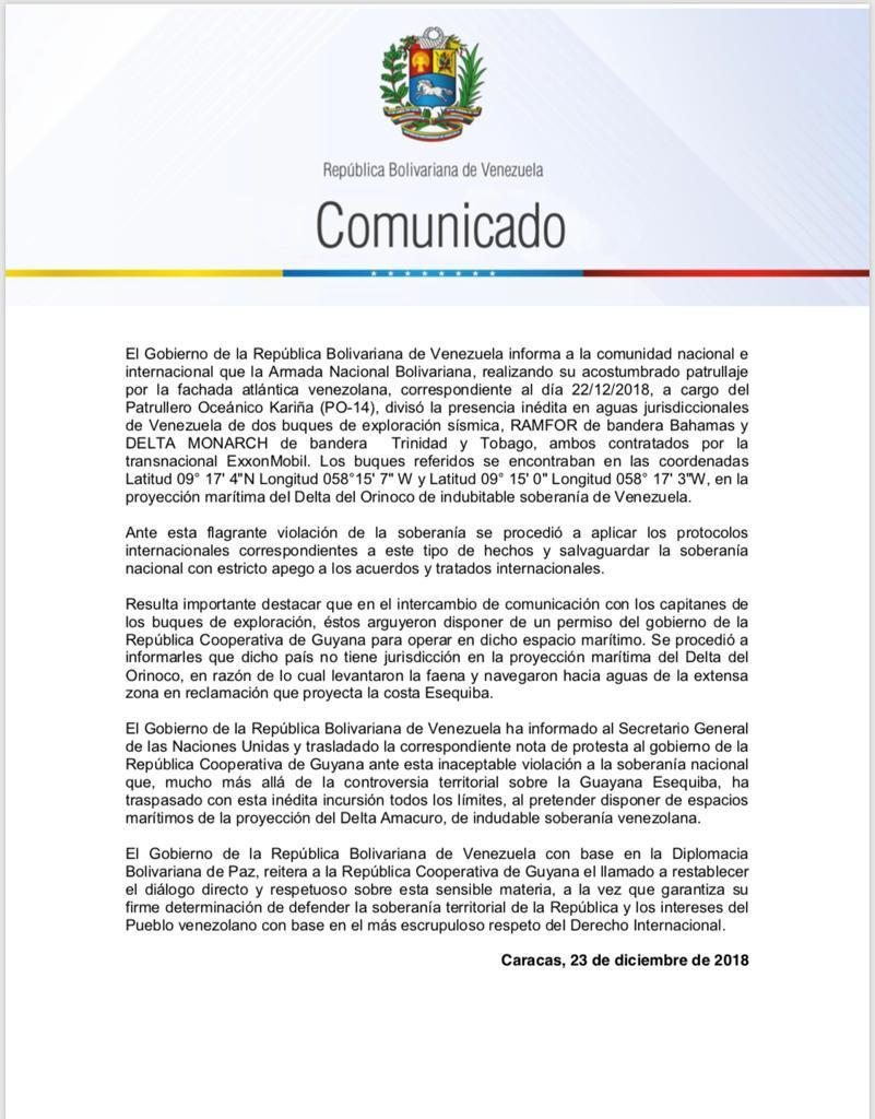 Tag guyana en El Foro Militar de Venezuela  DvHyy_oWoAAtCZ2