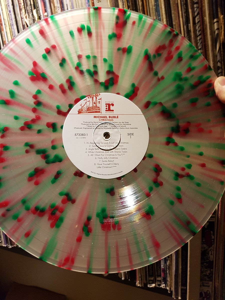 Michael Buble Christmas Album.Boom 101 9 On Twitter Here Is My Vinyl Of Michael Buble S