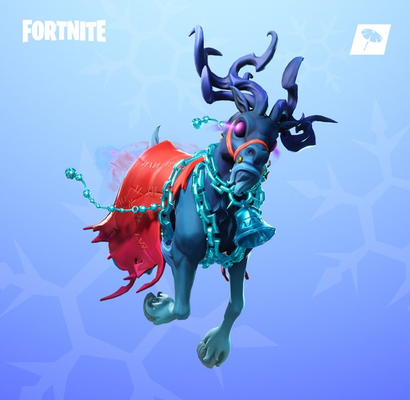 Fortnite S Tweet Better Not Cry The New Krampus Gear Is