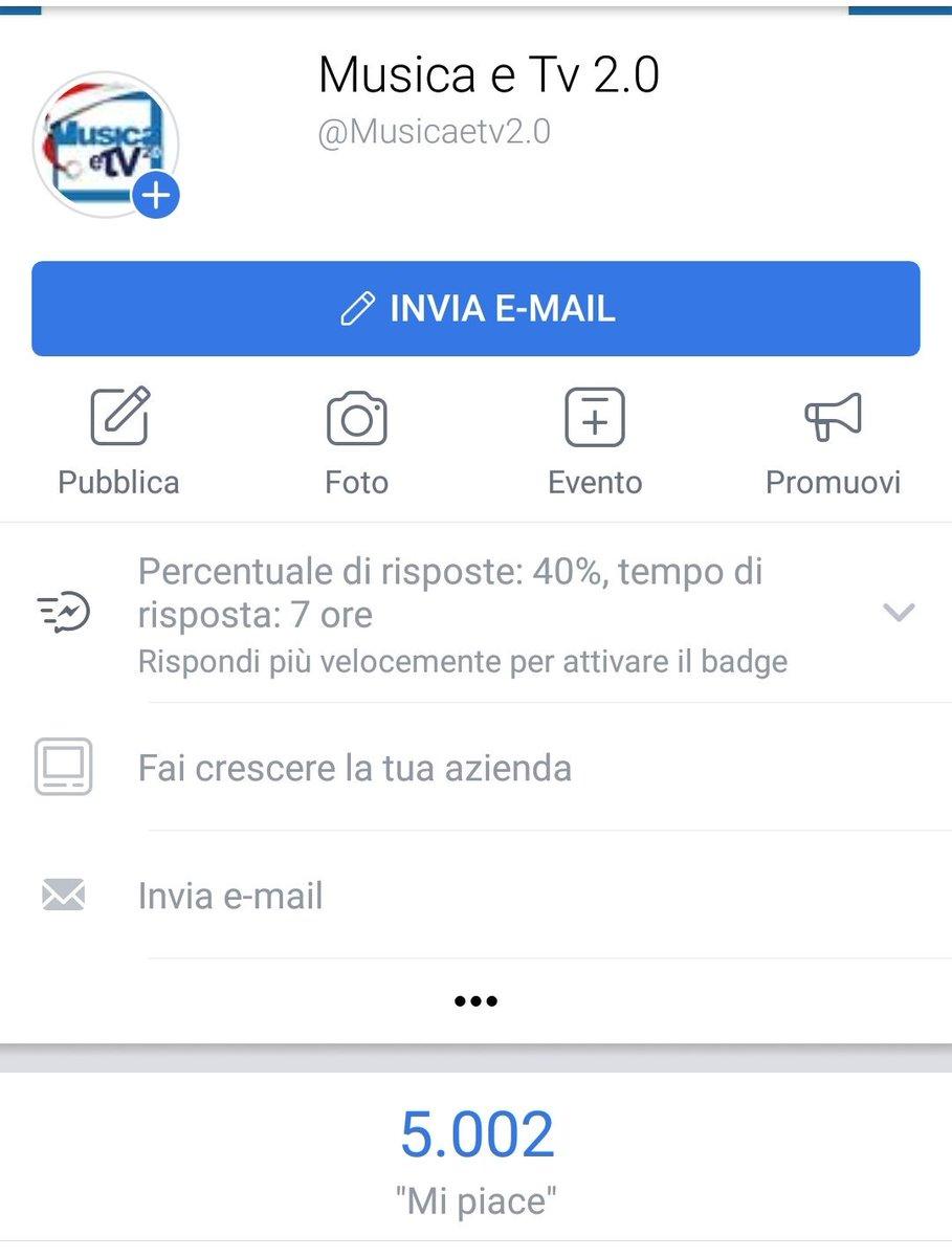 Evviva! Finalmente su #Facebook siamo in 5K! Aiutateci a crescere ➡ https://t.co/HZ23k5dQq8