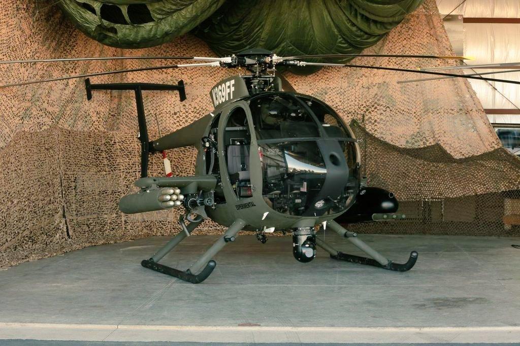 Resultado de imagen para MD 530G BII Scout Attack Helicopter
