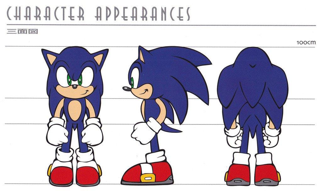 Sonic The Hedgeblog On Twitter Artwork Of Sonic S Model Sheet Design From Abelmunizjr S Scans Of The Sonic Adventure Style Guide Https T Co Ygwolrhvyn Https T Co Pusomlew9b