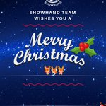 Image for the Tweet beginning: 🎄🎅 ShowHand $HAND wishes you
