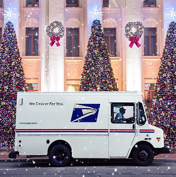 The schedules for Christmas Eve and Christmas Day for local post offices, USPS Blue Collection Boxes, and delivery can be found here: http://bit.ly/2QXJALg ...