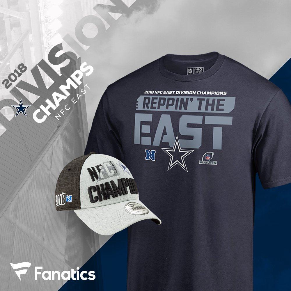 The  dallascowboys are NFC East champions! Get your  DallasCowboys  divisional title gear here d47cd1e5b