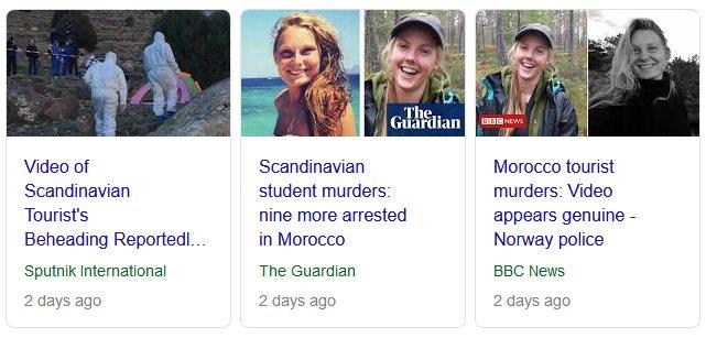 Scandinavian student murders nine more arrested in Morocco