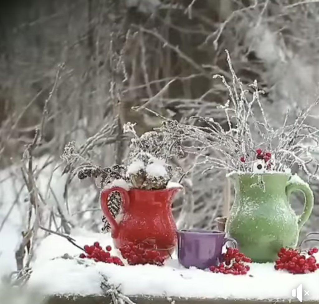 Картинки с добрым утром креативные зима