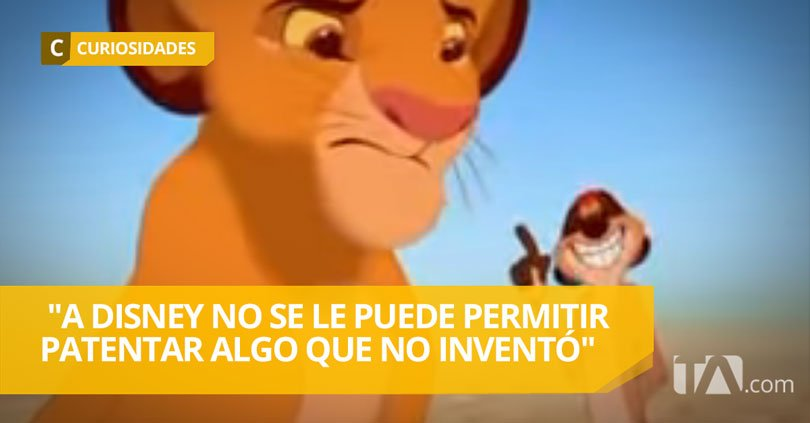 Teleamazonas On Twitter Denuncian A Disney Por Patentar