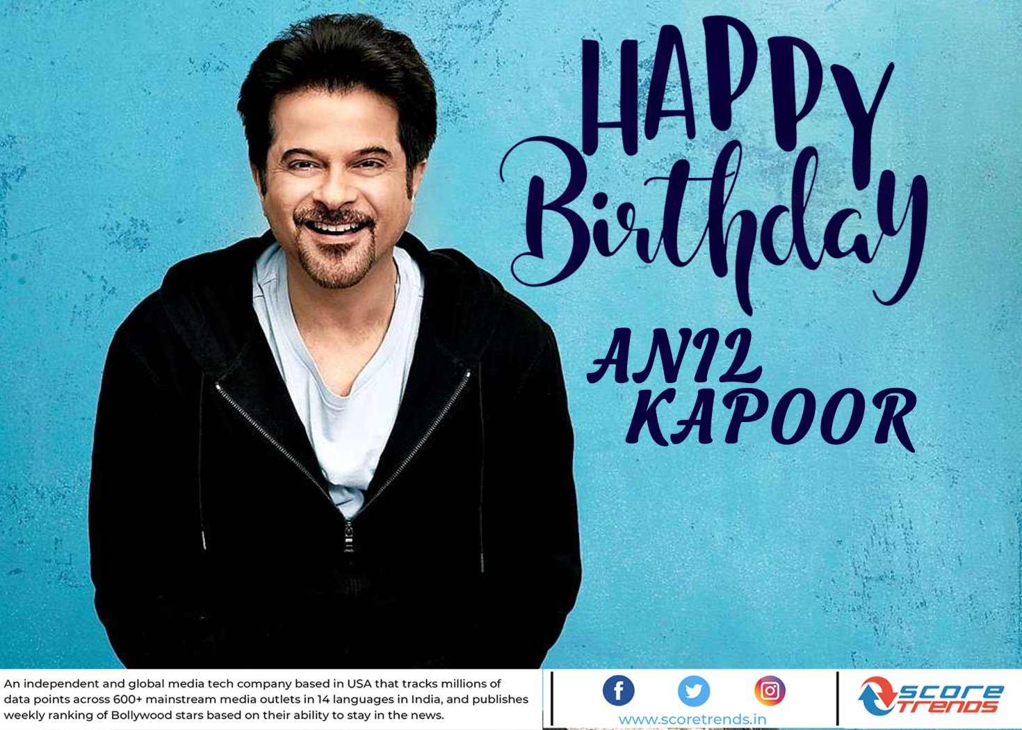 Score Trends wishes Anil Kapoor a Happy Birthday!!