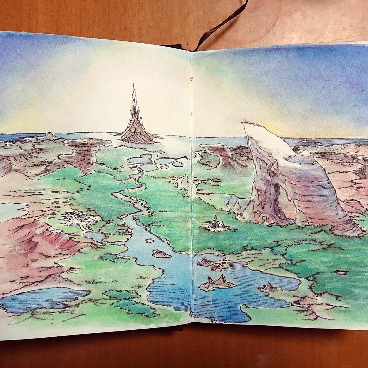 test ツイッターメディア - #手製本  #スケッチブック の#絵本 化が順調に進んでしまっている…???? でも #アナログ絵 はやっぱり楽しい。  #セリア と #DAISO では水彩パレット(固形絵の具はセット済み)と12色の   #水彩色鉛筆 と #水筆 が売っているのでみんなにオススメしたい! https://t.co/d99MWpvTQA