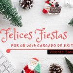 Image for the Tweet beginning: ¡Felices fiestas! A recargar pilas