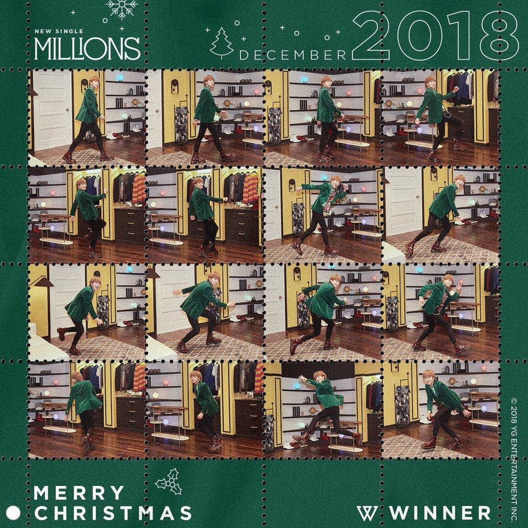 #WINNER MERRY MILLIONS CHRISTMAS SEAL : #YOON  #위너 #NEW_SINGLE #MILLIONS #MERRY_MILLIONS_CHRISTMAS #DIGITAL_SEAL #YG