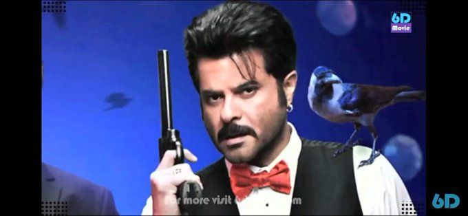 Happy birthday is today .bollywood cinestar Mr.Anil kapoor.
