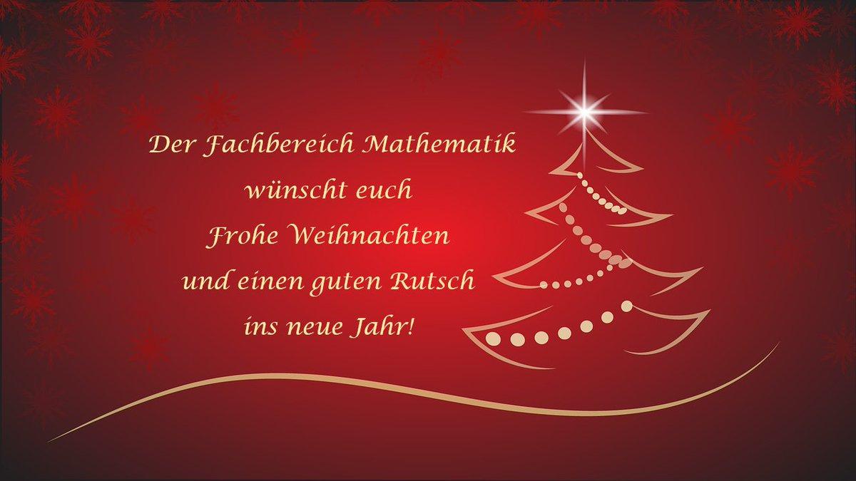 Frohe Weihnachten Wünschen Euch.Mathematik Tu Darmstadt On Twitter Wir Wünschen Euch Frohe