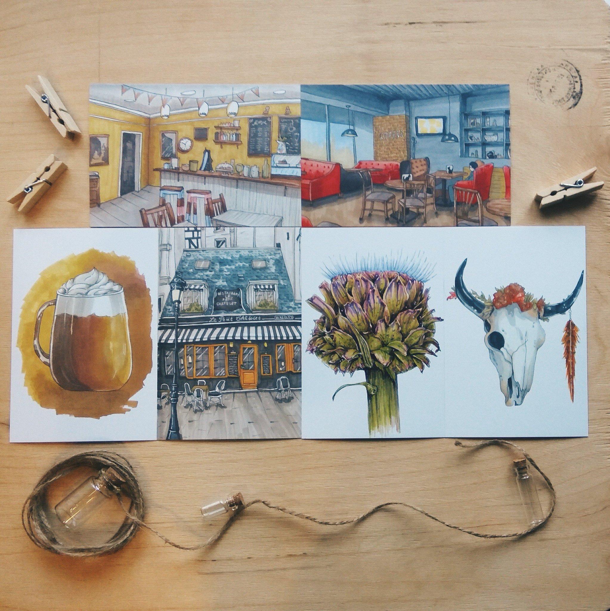 Розыгрыш открытки из европы, розой
