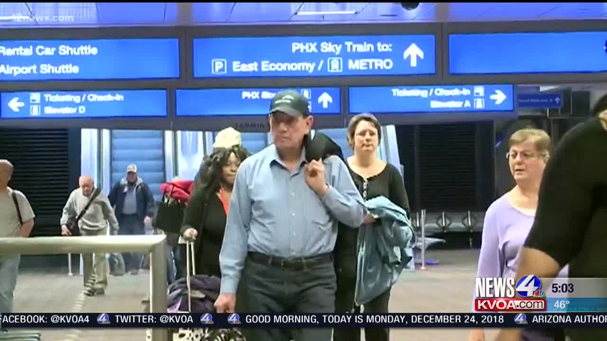 News 4 Tucson >> Kvoa News 4 Tucson On Twitter Phoenix Sky Harbor Named Most Stress