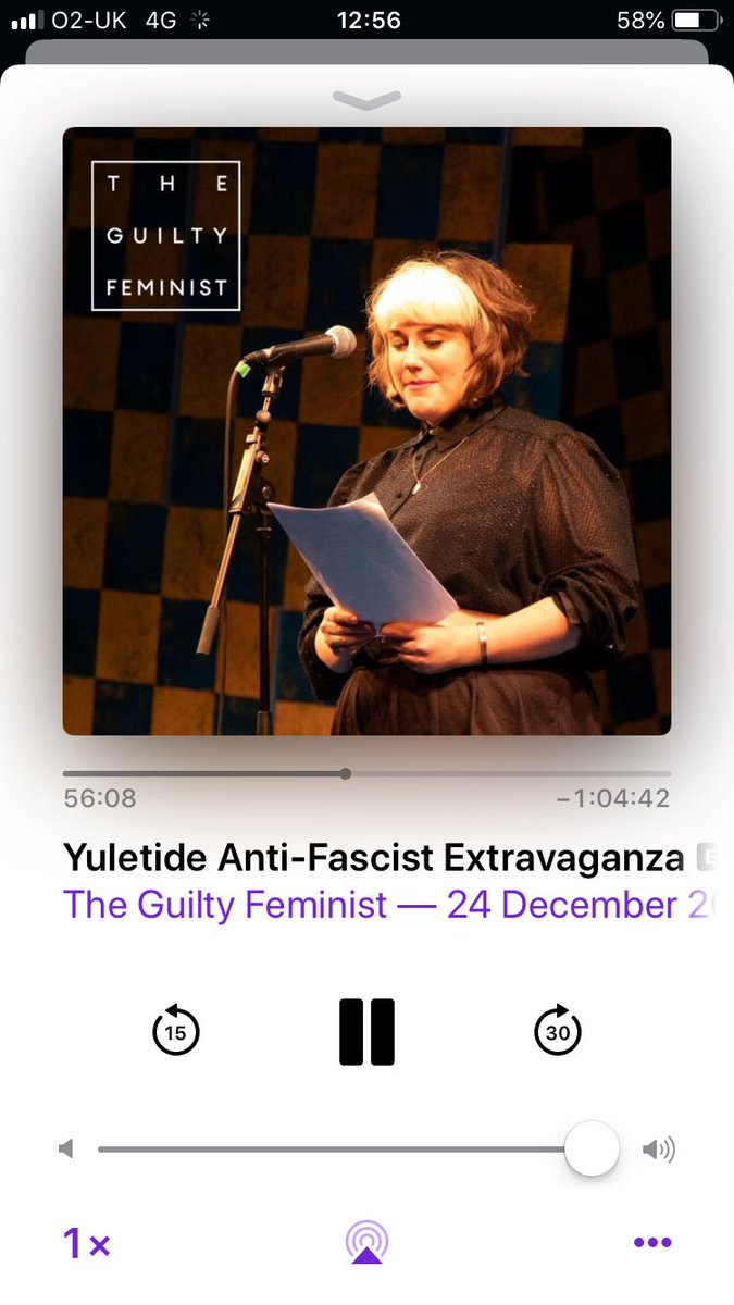 MY BEST MATE IS ON THE GUILTY FEMINIST AND ITS INCREDIBLE!!Check out @charl_talks reading from her fantastic Grandmothers memoirs. She is inspiring.Listen to the wonderful episode here https://itunes.apple.com/gb/podcast/the-guilty-feminist/id1068940771?mt=2#episodeGuid=214db08eb8f24f4ab18e4400be66e870… Well done mate.Well done.Xxxx @DeborahFW @GuiltFemPod #ChristmasEve2018
