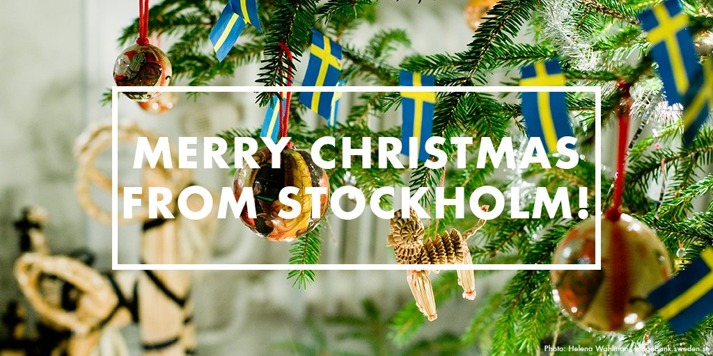 Visit Stockholm On Twitter From All Of Us To All Of You Happy