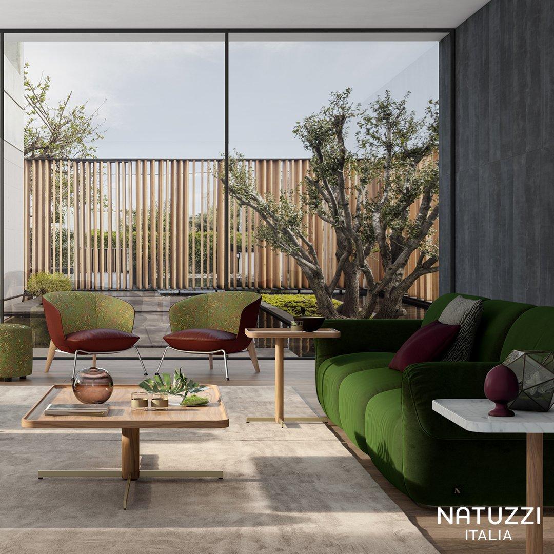 Natuzzi On Twitter For Its Soft Abundant Form Its Rounded