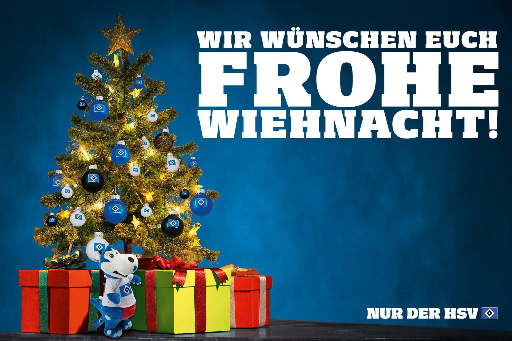 Frohe Weihnachten Hsv.Hamburger Sv A Twitter Frohe Wiehnacht Liebe Hsv Fans Nur