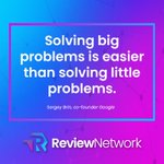 Image for the Tweet beginning: #ReviewNetwork