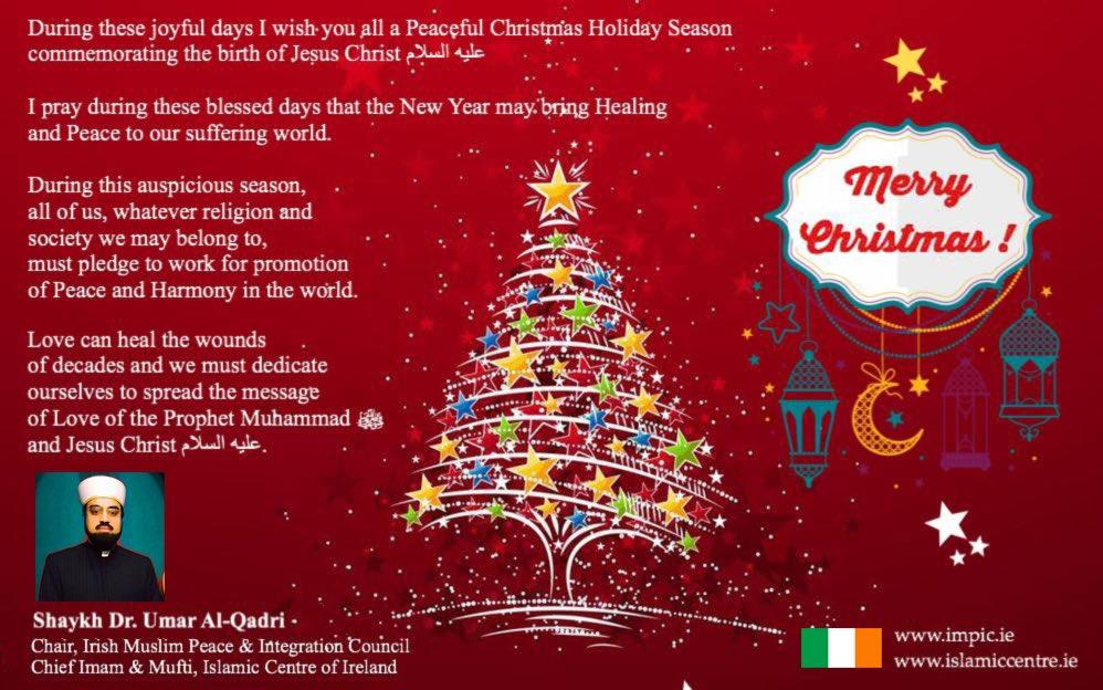 Islam Christmas.Shaykh Dr Umar Al Qadri On Twitter Show This To Anyone Who