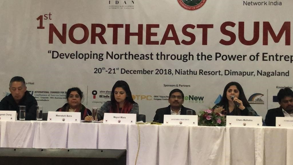 """""""The 1st Northeast Summit was extremely welcoming & productive. It gave us all a platform to connect with multiple stakeholders, be it Government, Bureaucrats, NGOs, Development organisations, etc. & further social action in the Northeast"""" says @Meenakshibatra, CEO, CAF India"""