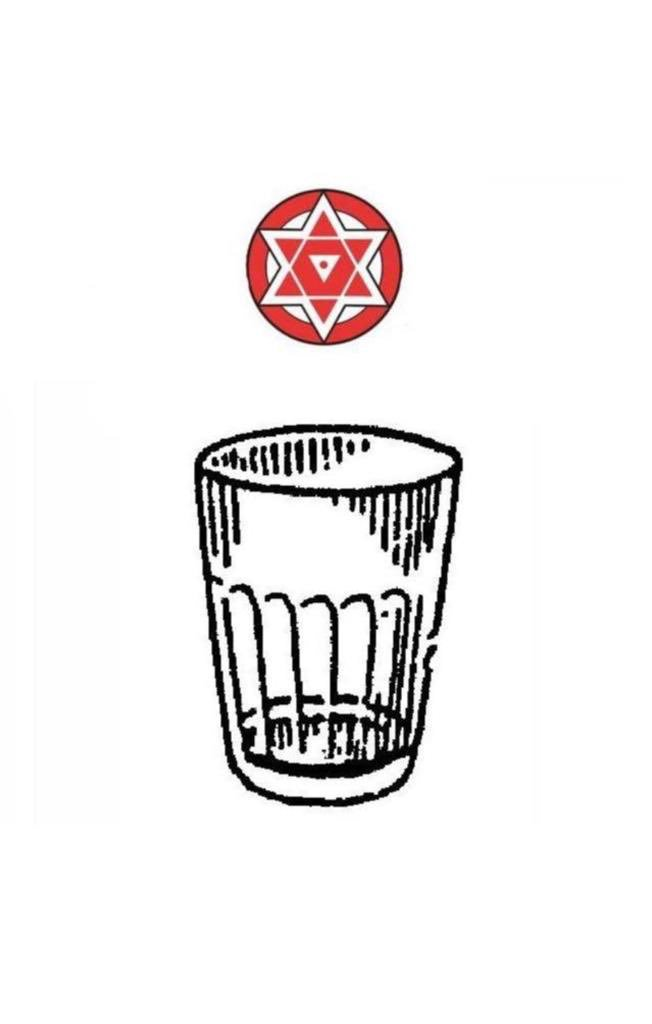 One more time ,I would like to convey my heartfelt thanks to Election Commission of India for giving us the 'Glass Tumbler' as Party election symbol.