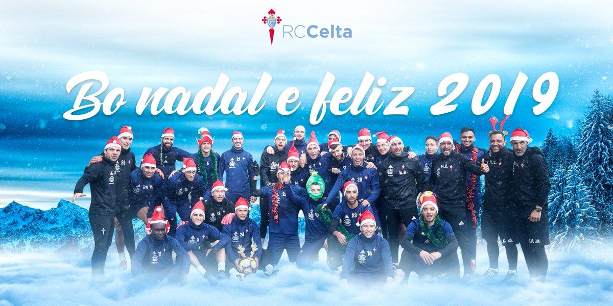 Felicitaciones Para Navidad 2019.Celta De Vigo Felicitacion De Navidad 2018 Fotos Y Videos