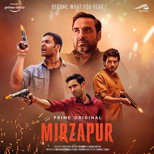 Watching :- 🎥 Just Complete watching Mirzapur : Season 1 An