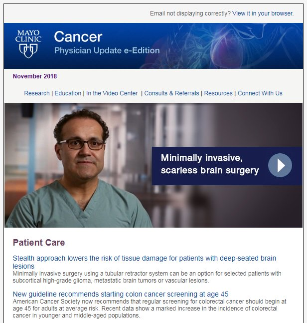 Mayo Clinic Cancer Center on Twitter:
