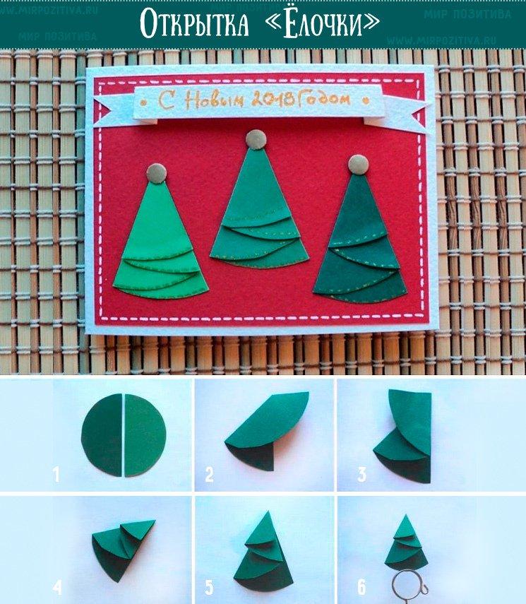 Открытка день, как сделать елку своими руками из бумаги открытку яйцо видео