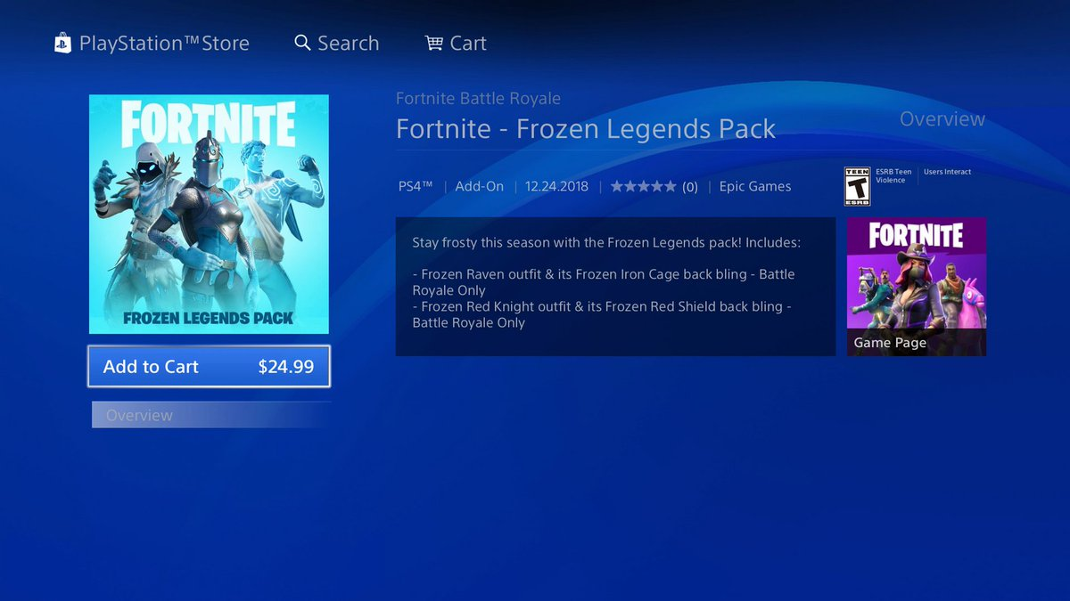 Ask Playstation On Twitter Trying To Purchase The Fortnite Frozen