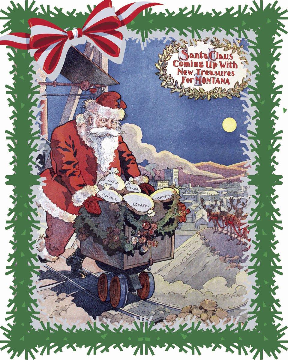 Vintage Christmas Illustrations.Montana Standard On Twitter Vintage Christmas
