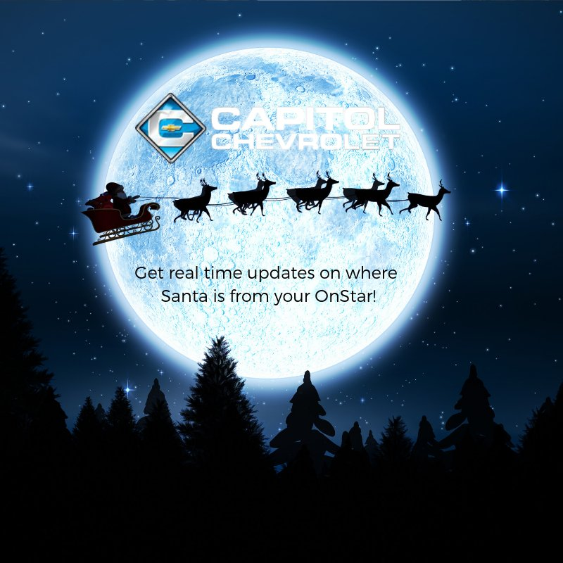 Capitol Chevrolet Austin >> Capitol Chevy Austin On Twitter Get Real Time Santa Updates From