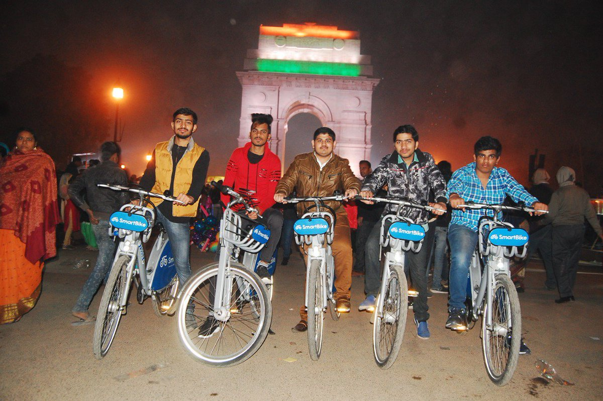 We used this bikes and enjoyed alot ..! #Recoomend yOUR SERVICE TO all indians@ArvindKejriwal @PMOIndia @GovtOfIndia_  @SmartBikeIN @AamAadmiParty