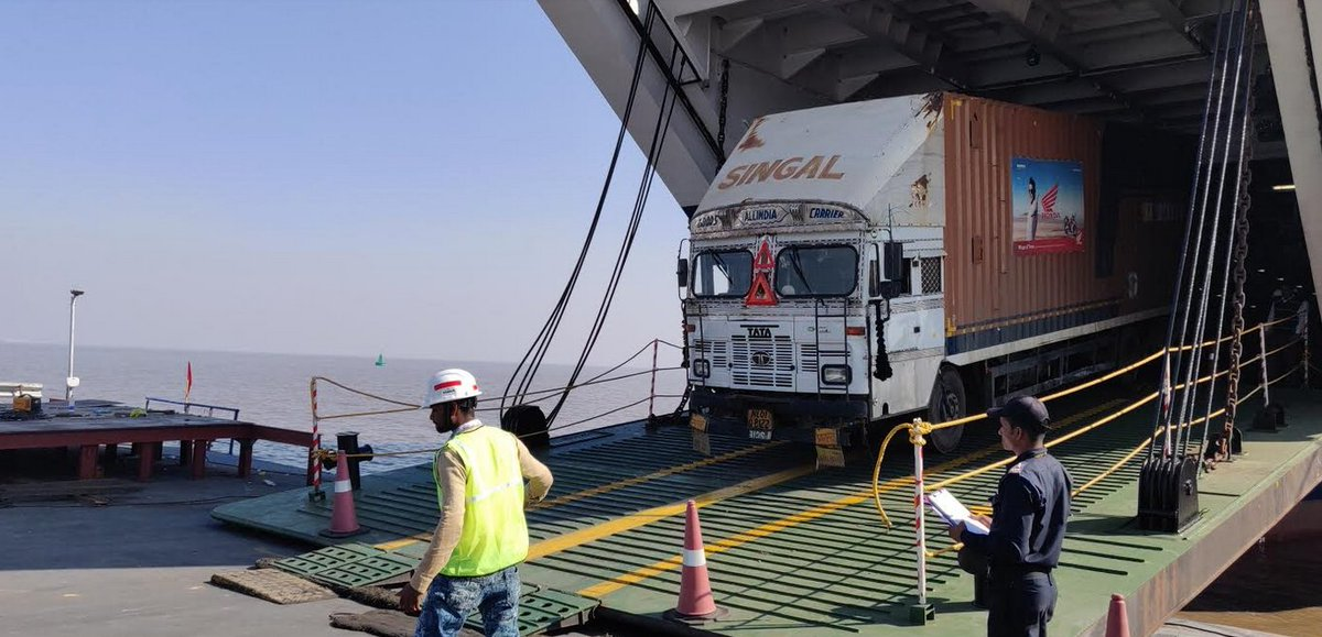 Honda uses Ghogha-Dahej Ro Pax Ferry service in Gujarat as carriage of its shipment