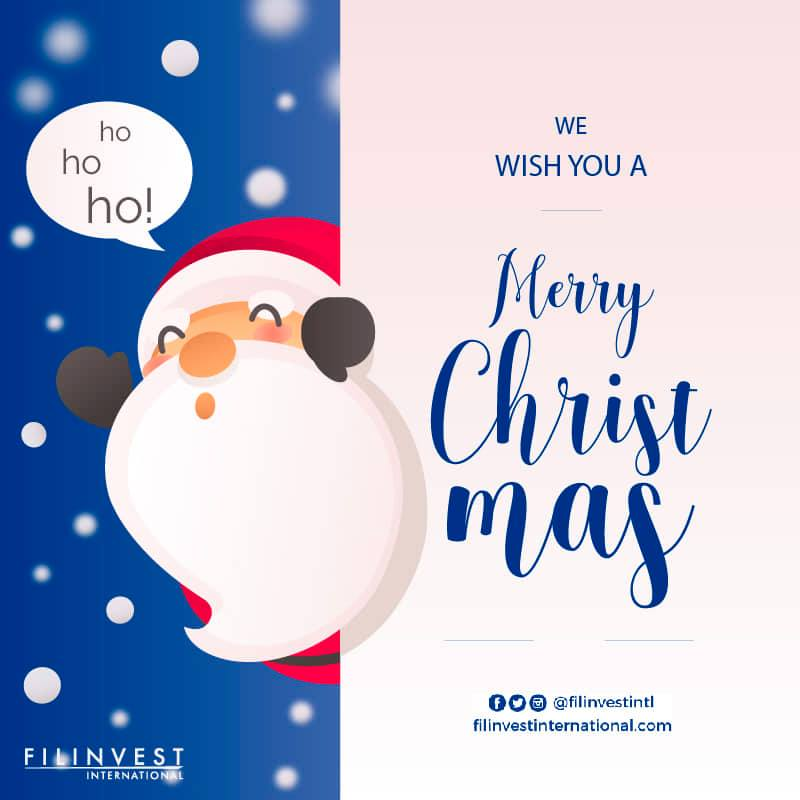 Hi Kabayan,  M E R R Y  C H R I S T M A S !  #FilinvestorInspires #Filinvest #FilinvestInternational #OFW #Investment #RealEstate #Opportunity #RentalIncome #ExtraIncome #Family #Future #Condominiums #HouseAndLot #Resorts #Philippines #Economy #Properties #Christmas https://t.co/RrpVqruABJ
