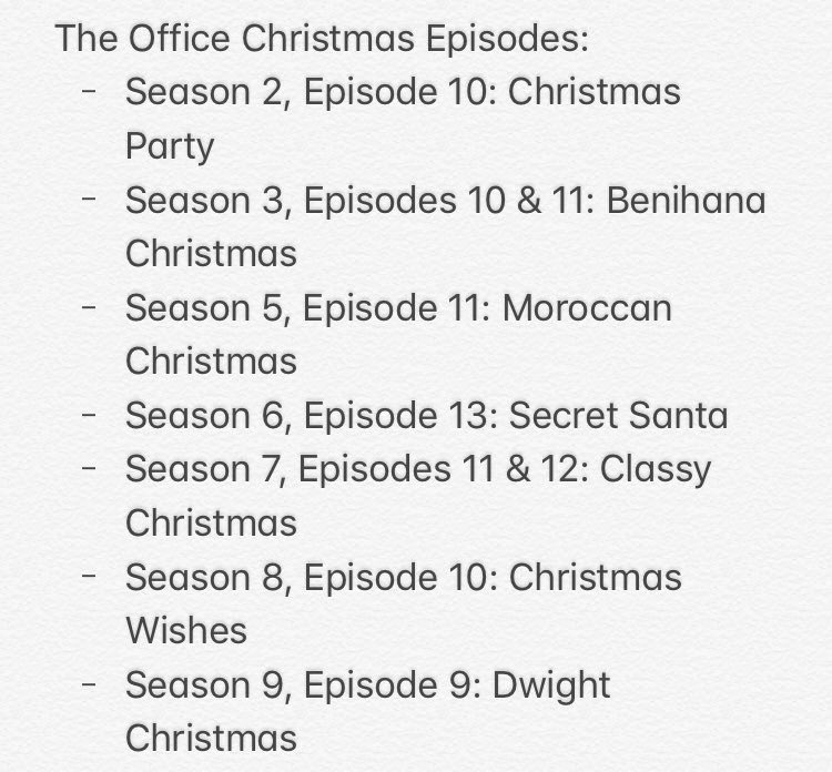 Office Christmas Episodes.Out Of Context The Office On Twitter List Of The Office