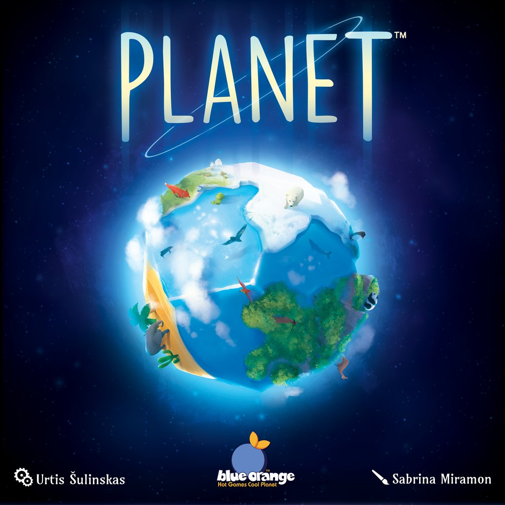 Boardgamegeek On Twitter Planet From Urtis Sulinskas Debuted At Spiel 18 In Europe And Now Blueorangegames Has Said That The Game Will Be Available In North America In Q2 2019 Here S An