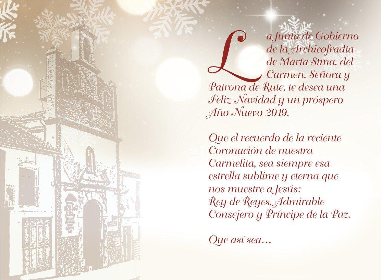 Feliz Navidad Siempre Asi.Ntra Sra Del Carmen On Twitter Feliz Navidad Rutenos