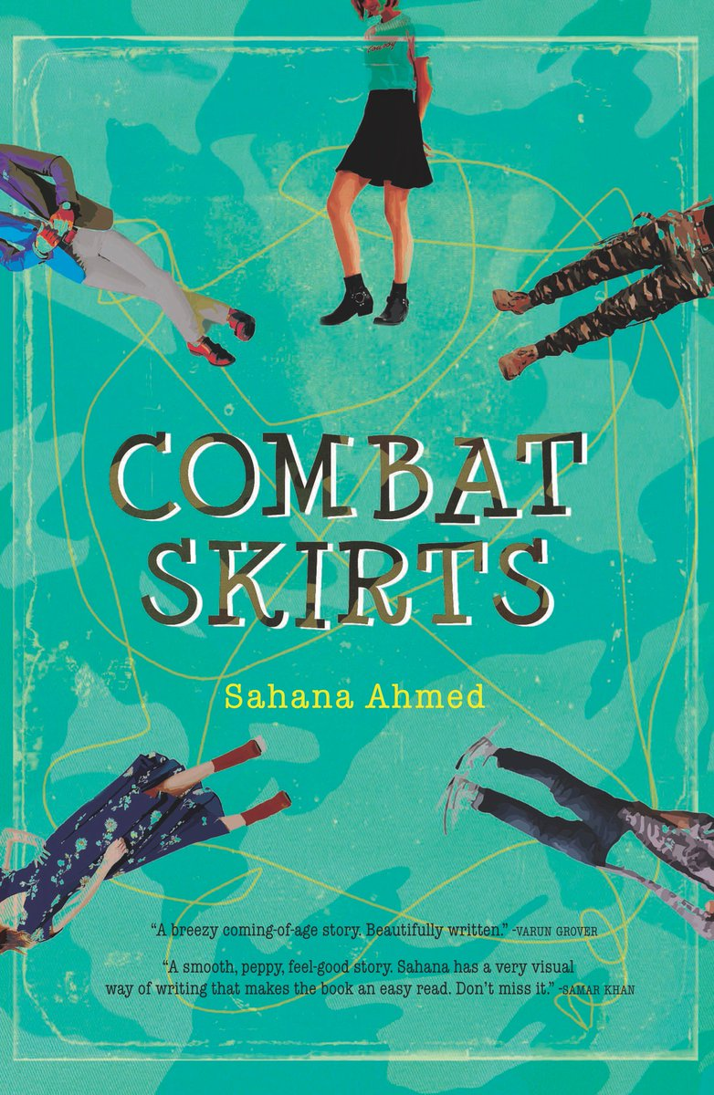 Combat Skirts by Sahana Ahmed