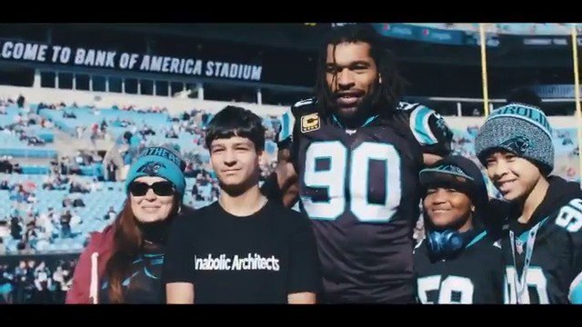 Derrick Buchanan was displaced by Hurricane Florence. Julius Peppers stepped in to make the 12-year-old's Christmas unforgettable.  #WPMOYChallenge + Peppers