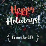 Image for the Tweet beginning: #HappyHolidays from CFE! Our offices