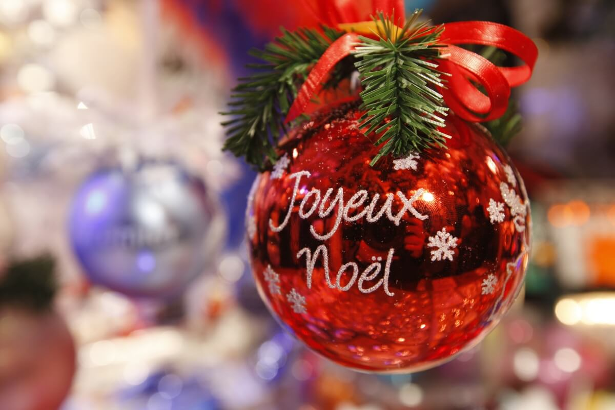 Картинка с рождеством по французски