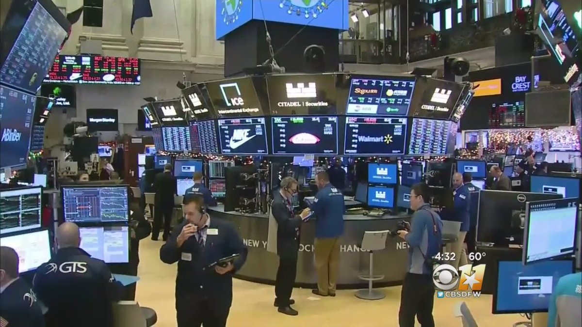 Cbsdfw On Twitter Stock Markets See Worst Christmas Eve Session