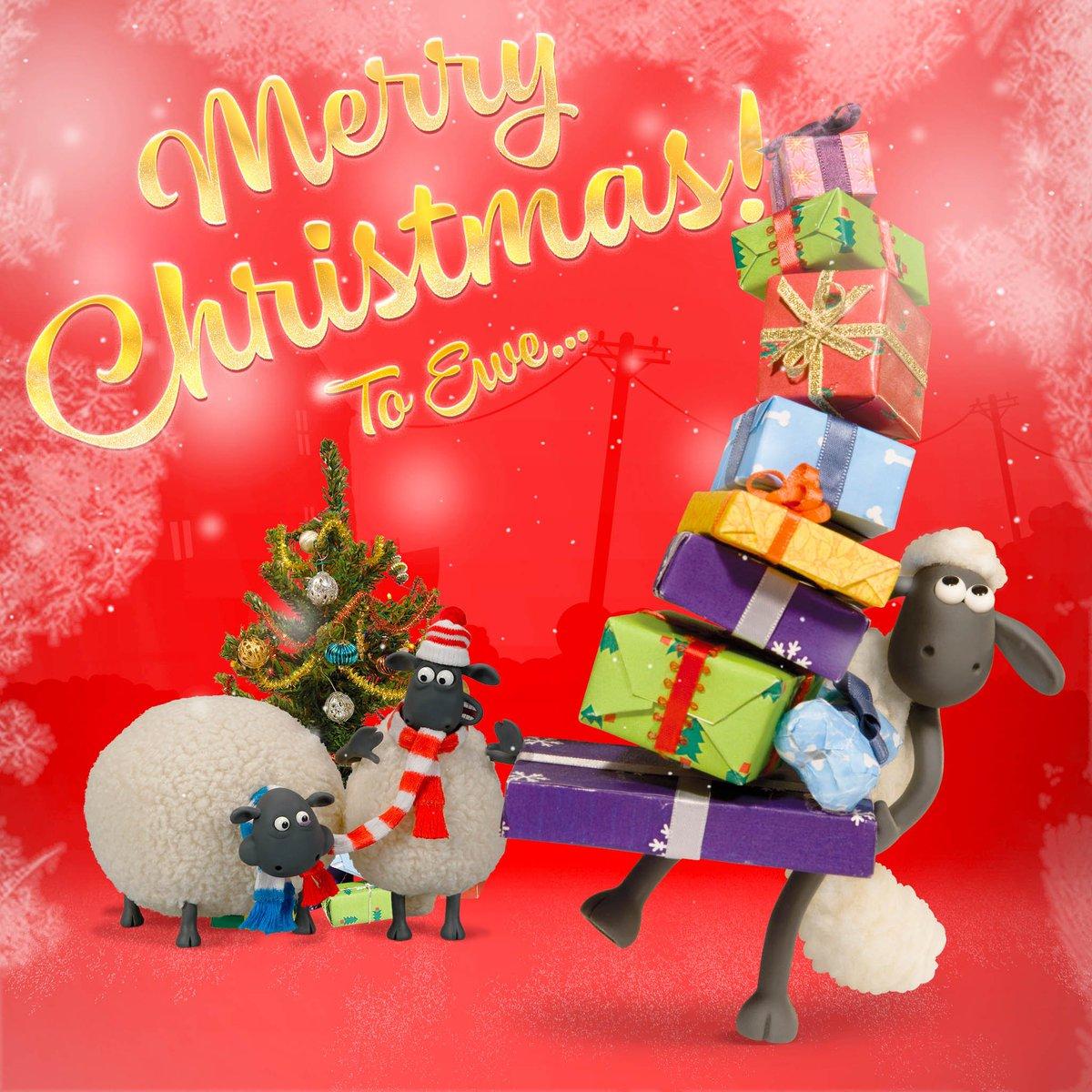 RT @aardman_jp: ひつじのショーンからファンの皆さまにメェ~リークリスマス!素敵でハッピーなクリスマスをお過ごしください♪ #ショーンの冬休み #クリスマス https://t.co/hOrhy8Qq3k