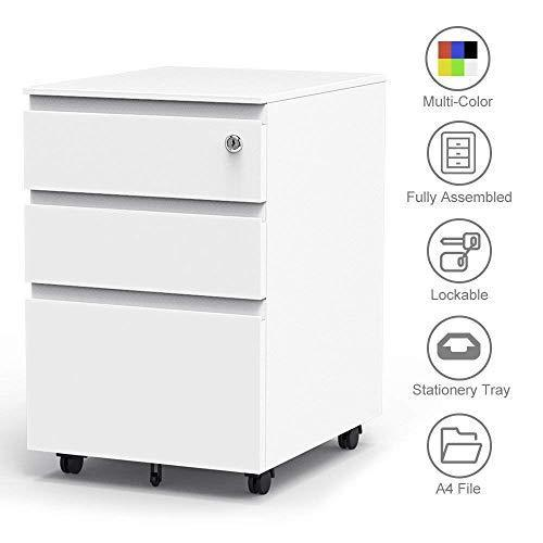 Dripex 3 Drawer Filling Cabinet