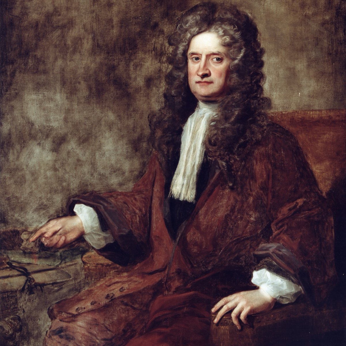 Today, the Royal Society pays tribute to a man born #OnThisDay who changed the world. Happy birthday, Isaac Newton FRS, born today in 1642.